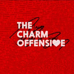 "Composite poster image for ""The Charm Offensive"" essay."